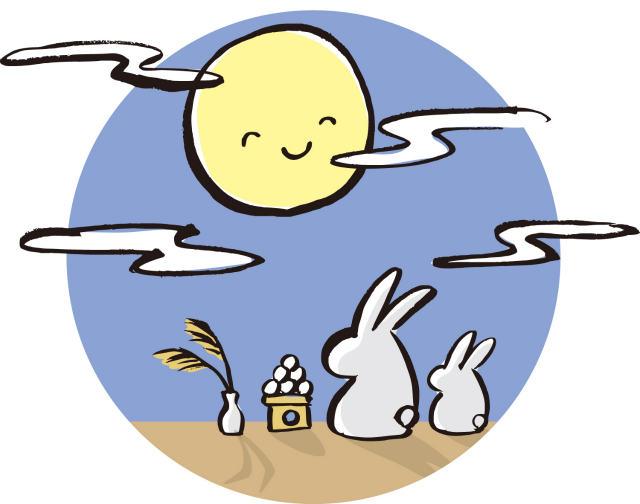 お月見の由来!簡単に説明した2つの会話集を紹介っ!
