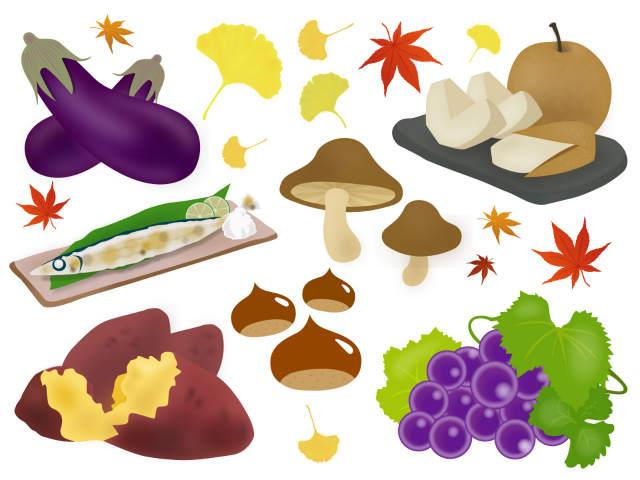 秋といえば食べ物は何をイメージする!?7つまとめっ