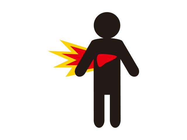 肩甲骨の痛み!右側は肝臓が悪いってマジ!?4つの原因も